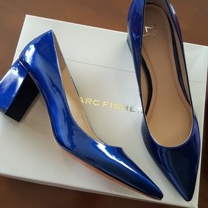 MARC FISHER block heel shoes.